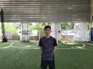 ソルティーロサッカースクールバンコク校のトキコーチ
